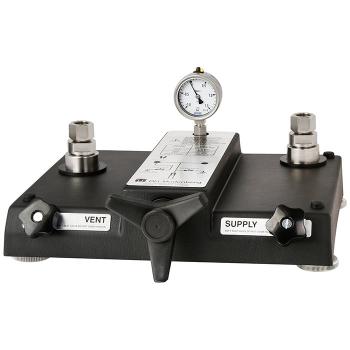 Модель CPP120-X Пневматический насос-компаратор